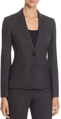 BOSS Jewisa Two-Button Tailored Jacket