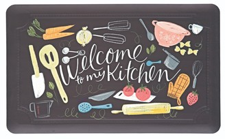 Mohawk Home Comfort Welcome to My Scattered Kitchen Kitchen Mat - 18'' x 30''