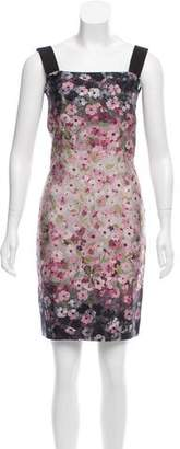 Valentino Sleeveless Floral Dress