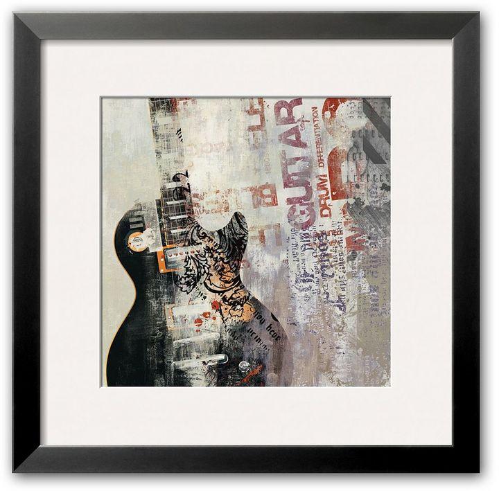 """Art.com Rock n Roll II"""" Framed Art Print by David Fischer"""