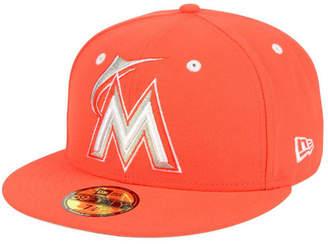 New Era Miami Marlins Pantone Collection 59FIFTY Cap
