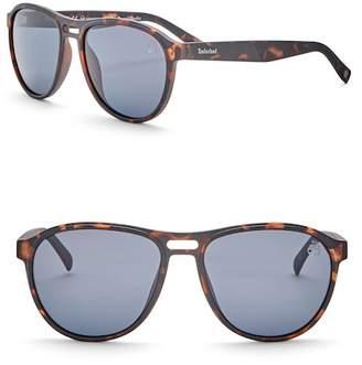 Timberland Navigator 57mm Polarized Sunglasses