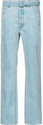 Prada vintage style bootcut jeans