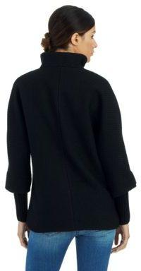 Calvin Klein Basket Weave Textured Coat