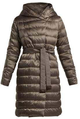 Max Mara S Novef Coat - Womens - Dark Grey