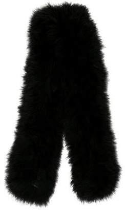Sonia Rykiel Feather Knit Scarf