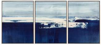 Williams-Sonoma Coastal Landscape Triptych