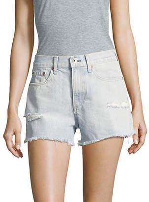 Rag & Bone Justine Distressed Denim Shorts