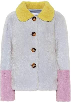 Saks Potts Lucia Baby shearling coat