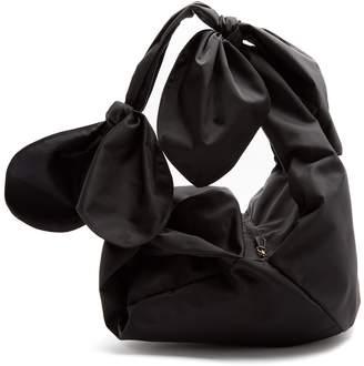 Simone Rocha Bow-tied faille shoulder bag