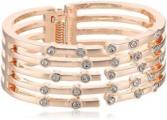 T Tahari RSG CRY Hinge Cuff Bracelet