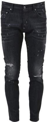 DSQUARED2 Denim Black Skater
