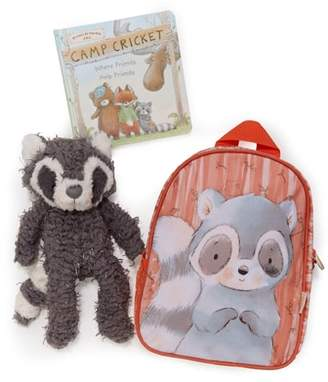 Bunnies by the Bay Roxy On the Go Backpack, Stuffed Animal & Board Book Set
