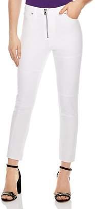Sandro Juliette Cropped Skinny Jeans