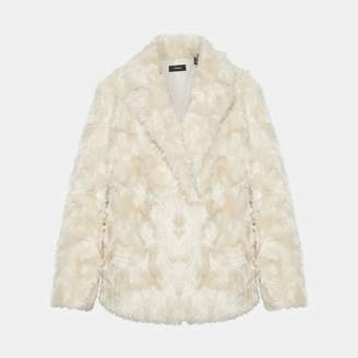 Theory Faux Fur Clairene Jacket