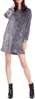 Michael Stars Velvet Sweatshirt Dress