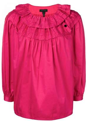 Marc Jacobs loose frilled top