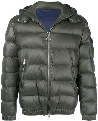 Eleventy hooded padded jacket