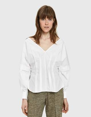 Rachel Comey Revise Crisp Shirt in White
