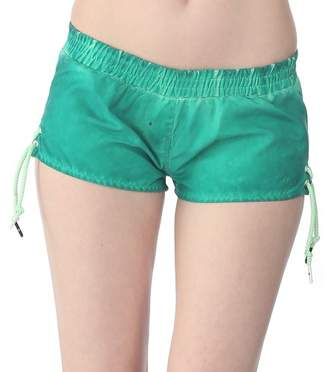 Bench Young Women's Boardshorts Green Mint Size:XL