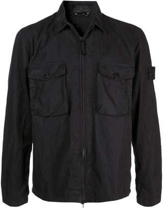 Stone Island lightweight black jacket