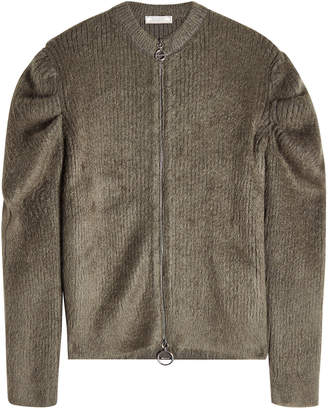 Nina Ricci Zip-Up Jacket with Wool and Mohair