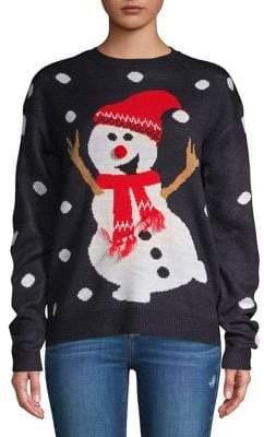 Vero Moda Graphic Snowman Sweater