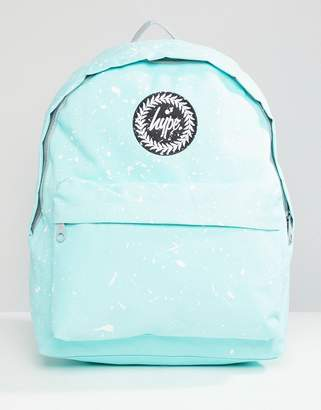 Hype Mint and White Speckle Backpack