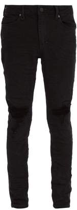 Neuw - Rebel Distressed Skinny Jeans - Mens - Black