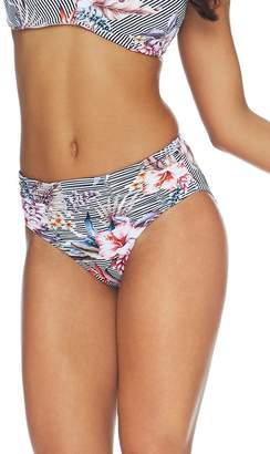 Sunseeker Aloha Ruched Mid Rise Pant