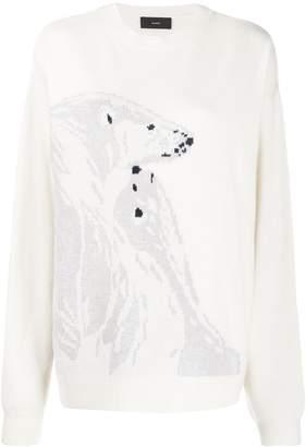 Alanui Polar Bear jumper