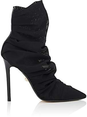 ALEVÌ Milano Women's Isabeli Tulle Ankle Boots - Black
