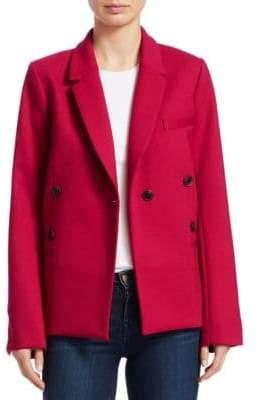 Sea Wool-Blend Double Breasted Blazer
