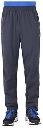 Co Trailside Supply Men's Stretchy Sport Pant Elastic-Waist with Drawstring Quick Dry Light-Weight Breathable