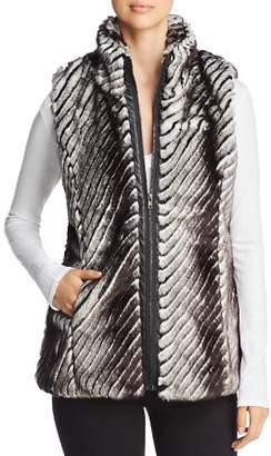 Sioni Paneled Faux Fur Vest