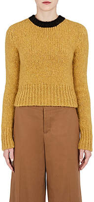 Marni Women's Alpaca-Blend Crop Sweater
