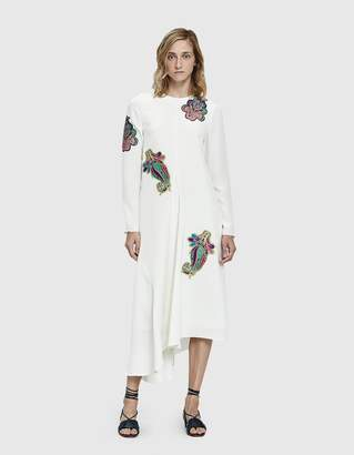 Tibi Paisley Patch Dress