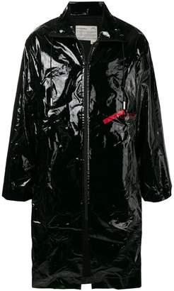 A-Cold-Wall* zipped PVC coat