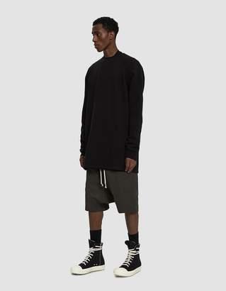 Rick Owens Raglan Sleeve Pullover in Black