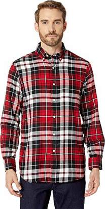 Chaps Men's Plaid Fashion Long Sleeve Sport Shirt