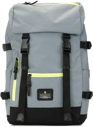 Makavelic Jade double buckle Evolution backpack