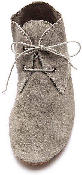 Anniel Soft Lace Up Booties