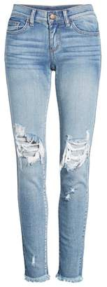 SP Black Ripped Skinny Jeans