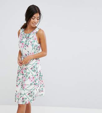 Yumi Petite Uttam Bouitque Petite Floral Midi Dress
