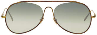 Acne Studios Tortoiseshell Spitfire Large Sunglasses