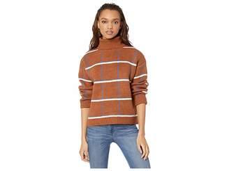 J.o.a. Tattersall Plaid Sweater