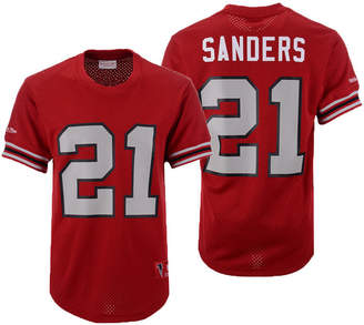 Mitchell   Ness Men Deion Sanders Atlanta Falcons Mesh Name and Number  Crewneck Jersey 6f222ce77