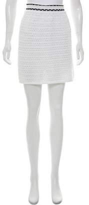 RED Valentino Spa Crochet Skirt