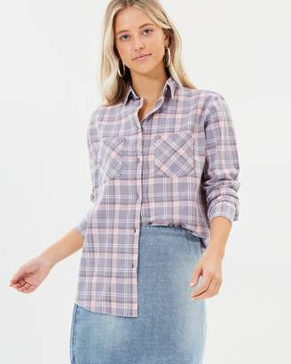 All About Eve Rachel Checked Shirt