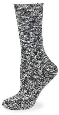 Birkenstock Heathered Slub Crew Socks